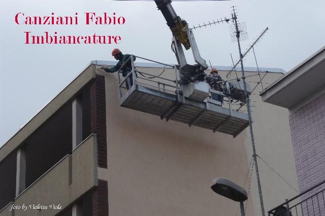 Canziani Fabio Imbiancature Facciata Esterna Novara